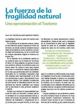 La fuerza de la fragilidad natural