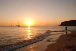 Puesta de sol en Ibiza. Clases de Chi Kung Qi Gong