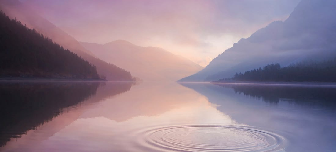 Lago. La Sabiduría del Silencio Interno. Texto del Dr. Oskar Salazar